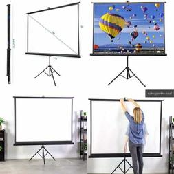 "VIVO 84"" Portable Indoor Outdoor Projector Screen, 84 Inch D"