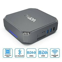 ACEPC AK2 Mini PC Intel Celeron J3455,4K HD Graphics Windows