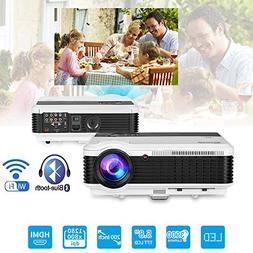 Bluetooth Projector Wireless LED 3900 Lumen Android Bluetoot
