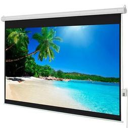 "Hot Sale 100"" 4:3 Material Electric Motorized Projector Scre"
