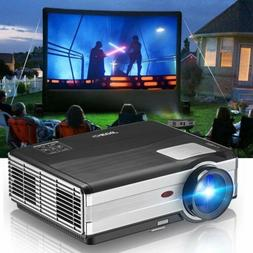 Big Screen HD LED Projector Video Home Theater 4500lm Movie