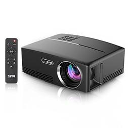 Compact Digital Projector, HD 1080p Support, Built-in Speake