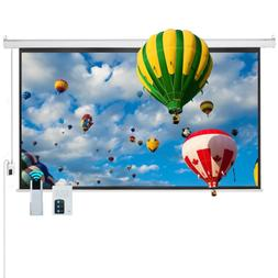 "Cloud Mountain Electric Projector Screen 100"" 16:9 Motorized"