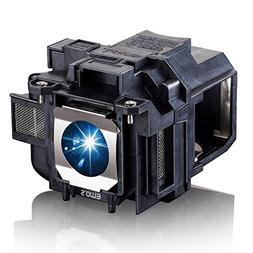 EWO'S ELP88 Replacement Projector Lamp for Elplp88 Epson Pow