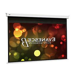 "Elite Screens Evanesce B, 110"" 16:9, Recessed in-Ceiling Ele"