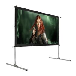 "Homegear Fast Fold Portable 100"" Projector Screen 16:9 HD fo"
