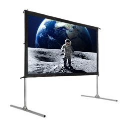 "Homegear Fast Fold Portable 110"" Projector Screen 16:9 HD fo"