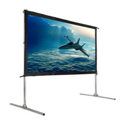 "Homegear Fast Fold Portable 90"" Projector Screen 16:9 HD for"
