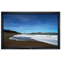 Fixed Frame Projection Screen  - HD White Fabric