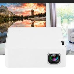 HD 1080P LED Mini Projector USB HDMI TF DLP Home Theater Cin