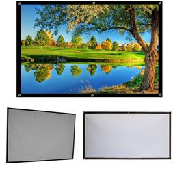 HD Projector Screen 16:9 Home Cinema Theater Projection Scre