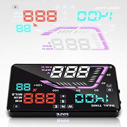 Heads Up Display HUD Screen - Universal 5.5'' Car Head-U