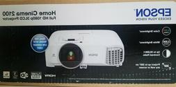 Epson Home Cinema 2100 1080p 3LCD Projector, V11H851020-W -