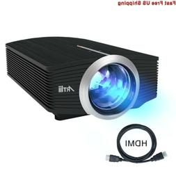 """Video Projector, Artlii Portable Movie Projector with 130"""" S"""