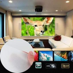 "Hongfei Folding Projector Curtain 16:9 HD Display 60"" Projec"