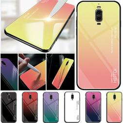 For Huawei Phone Tempered Glass Case Hard Shockproof Armor S