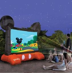 Inflatable Mickey Mouse Movie Screen Video Projector Outdoor