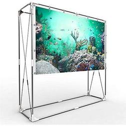 JaeilPLM Projection Screens 100-Inch Portable Projector Scre
