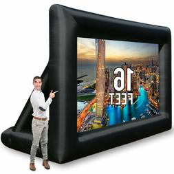 Jumbo 16 Feet Inflatable Outdoor and Indoor Theater Projecto