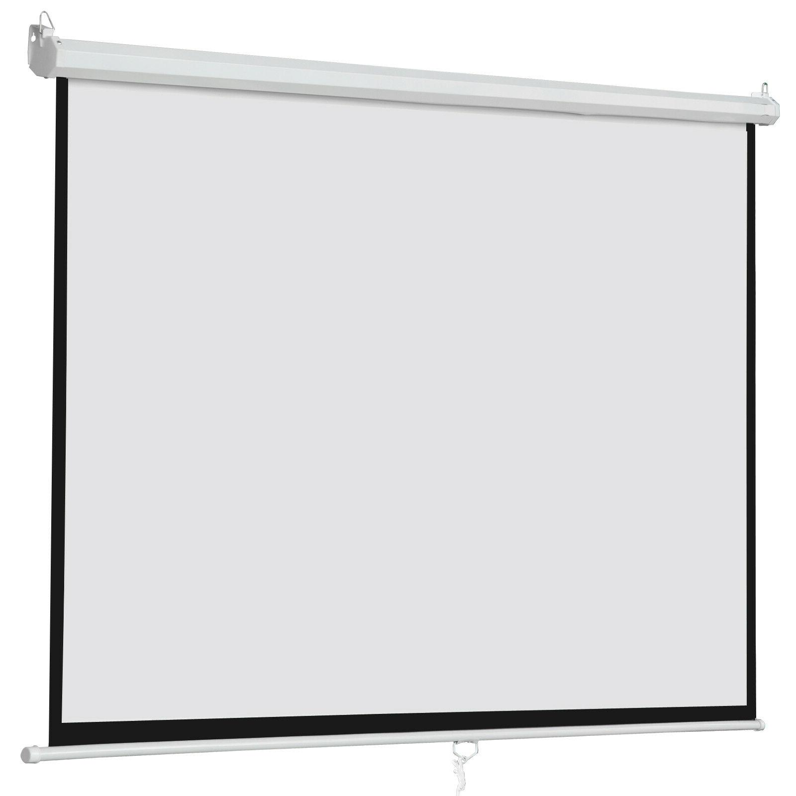 """100"""" Manual Pull Down Projector"""