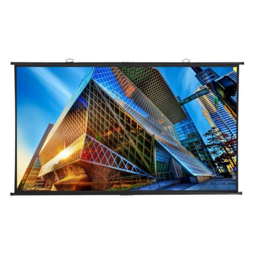 Excelvan 100 Inch / 120 Inch 16:9 160° Viewing Angle Hangin
