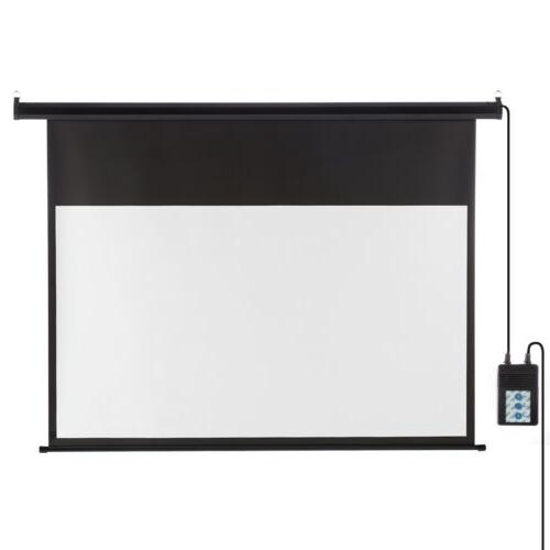 "100"" Motorized Screen Cinema US"