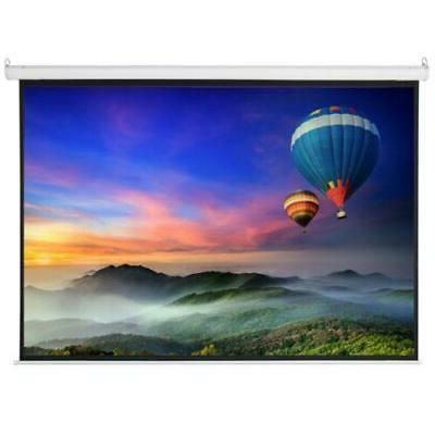 "100"" Electric Motorized Screen +Remote"