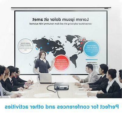 """100"""" Projector Screen Room Home Theater HD Projection"""