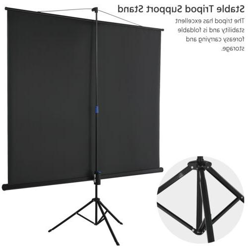 """100"""" 4:3 Portable Indoor Outdoor with Stand Tripod"""