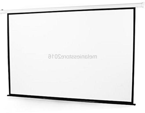 "VIVO 100"" Projector Screen Diagonal Auto"