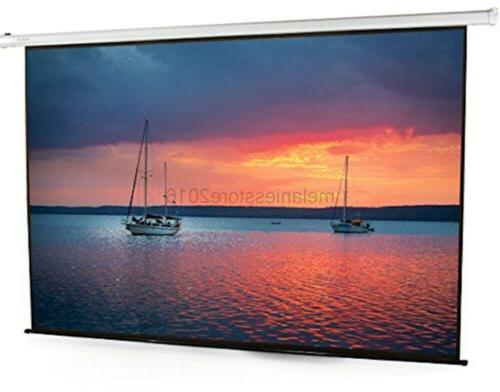 100 electric motorized projector screen 100 inch