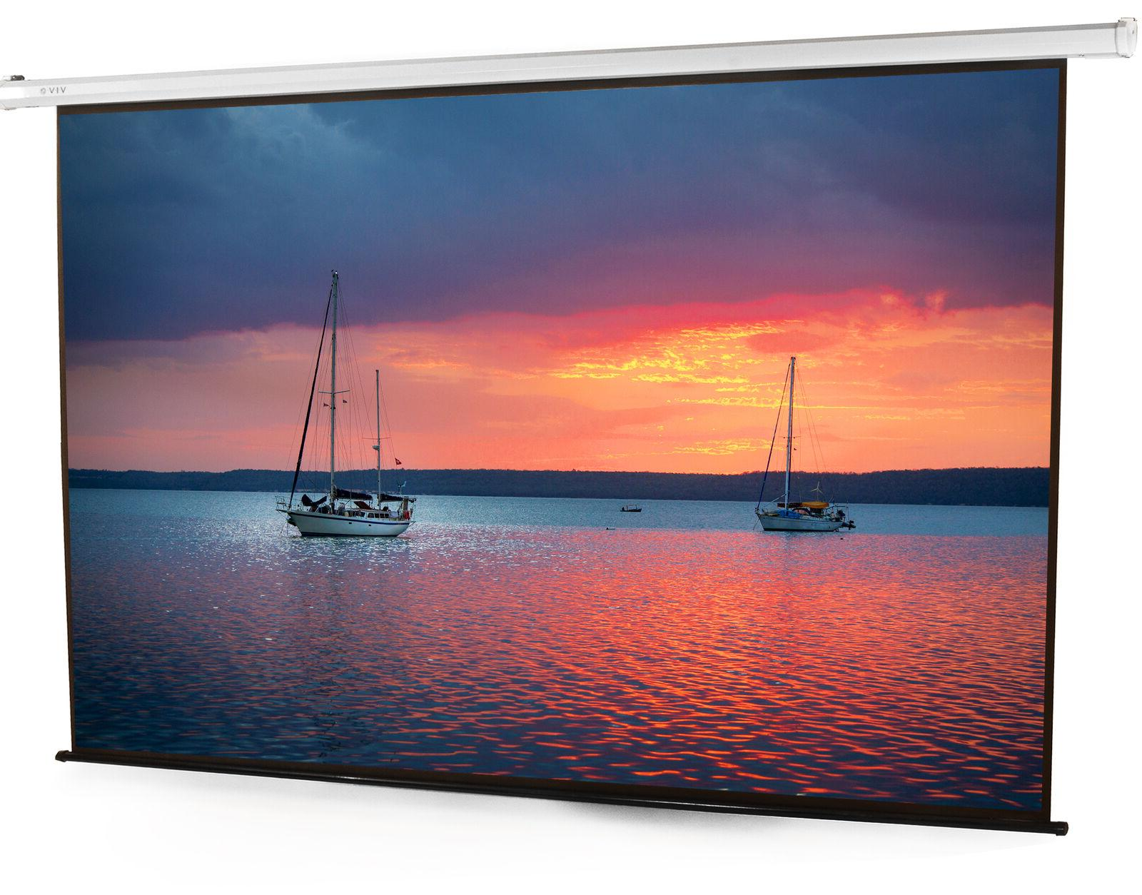 100 electric motorized projector screen with remote