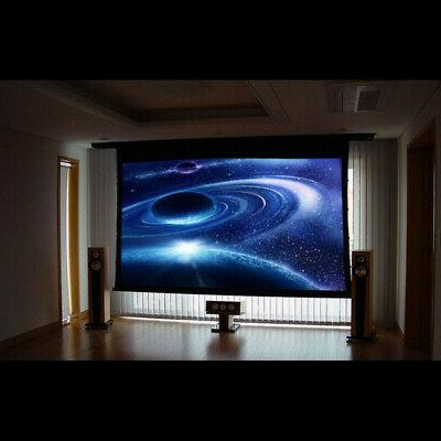 100 16:9 Pull Projection HD Movie