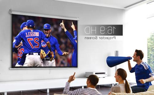 100 Pull Projector Projection Screen