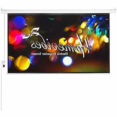 100 inch 169 projector screen electric motorized
