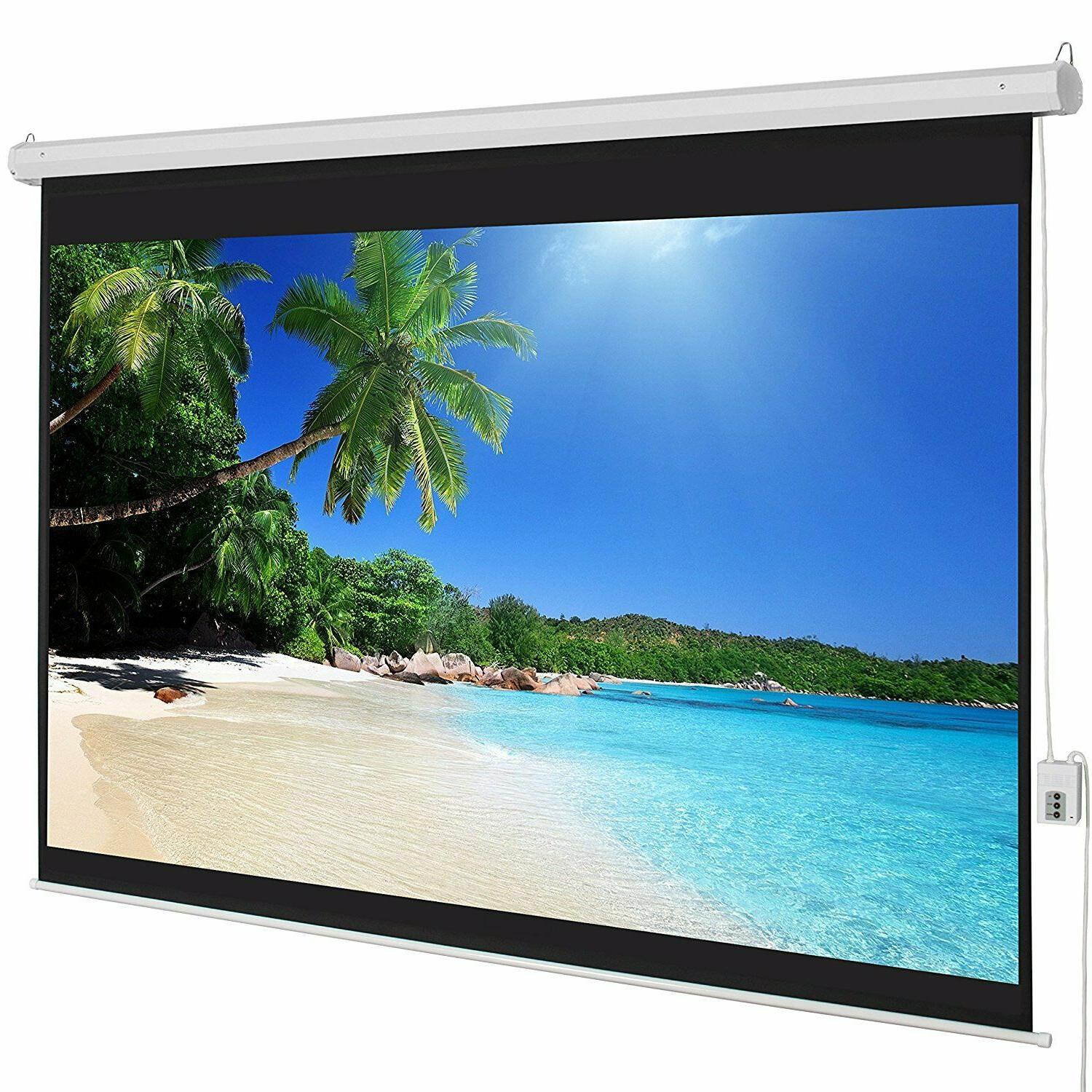 Portable Projector Screen 3D HD Home Theater Movie Projectio