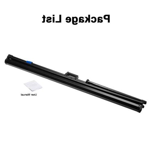Portable Projection Screen Pull Up Matte Tripod