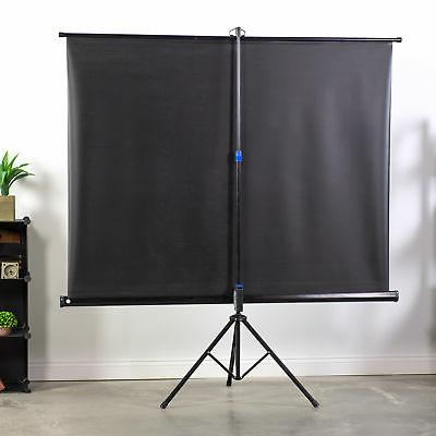 """VIVO 100"""" Screen 4:3 Projection Up Foldable Stand Tripod"""