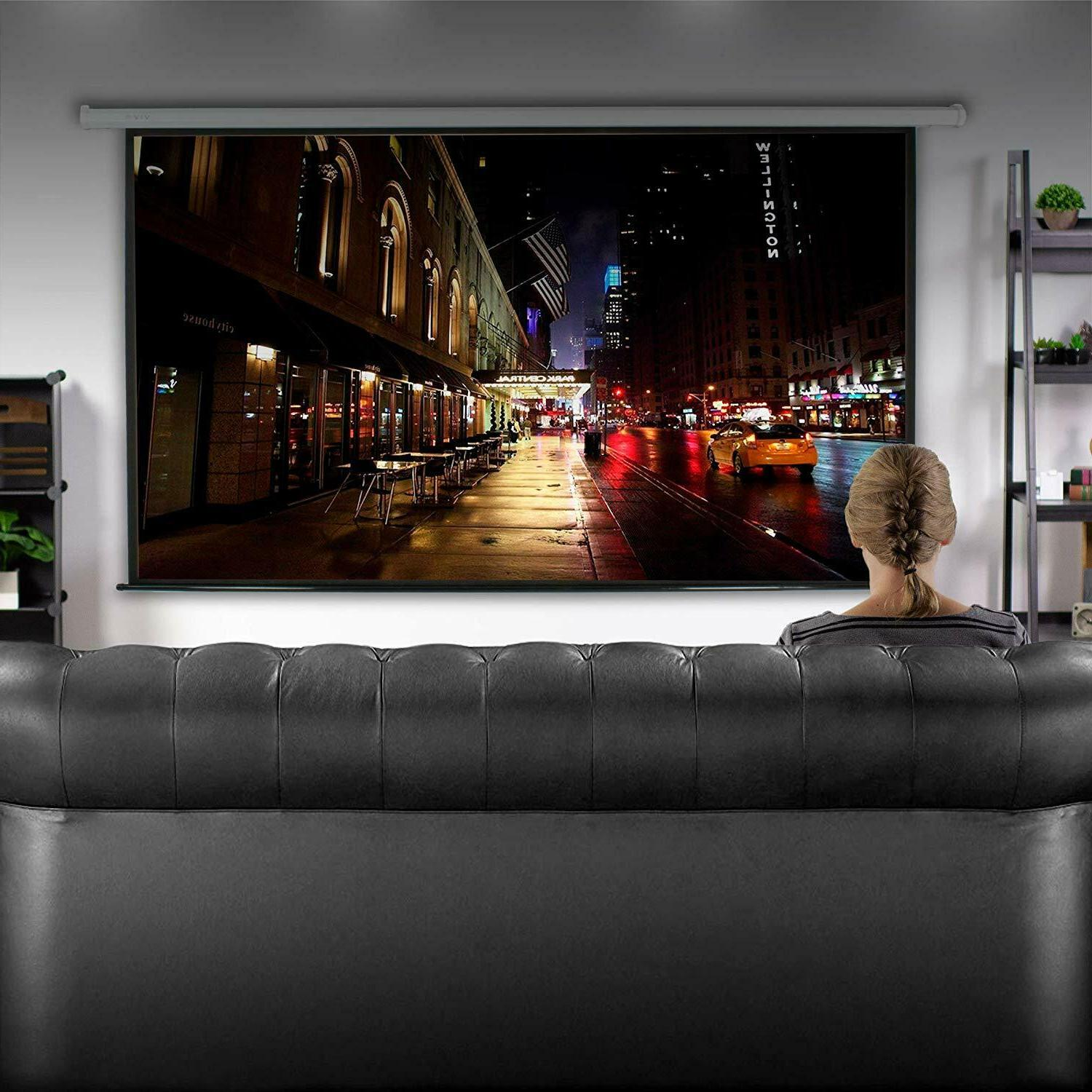 100 projector screen 16 9 projection hd