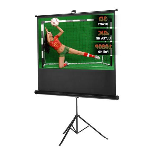100'' Projector Projection Pull Down Stand