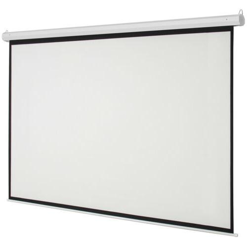 """92"""" inch 16:9 Electric Motorized Projector Projection"""