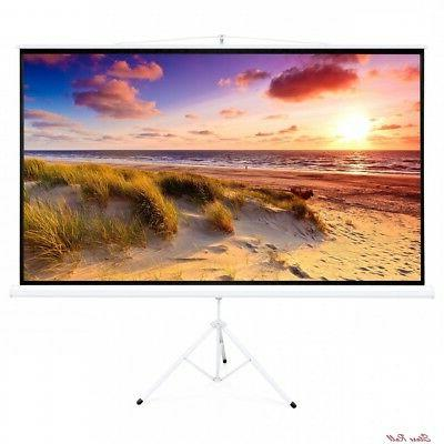 100in screen projector stand tripod foldable diagonal