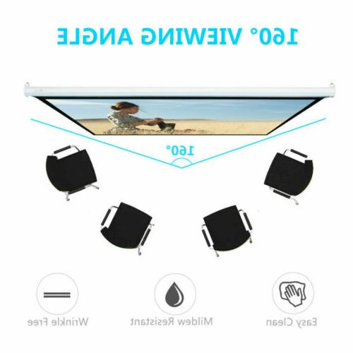 Lightweight Manual Pull Down Projection Screen