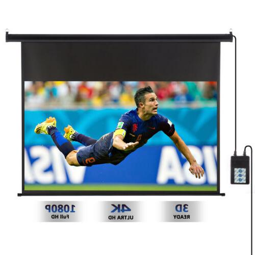 100'' Projector Material 3D Home Cinema
