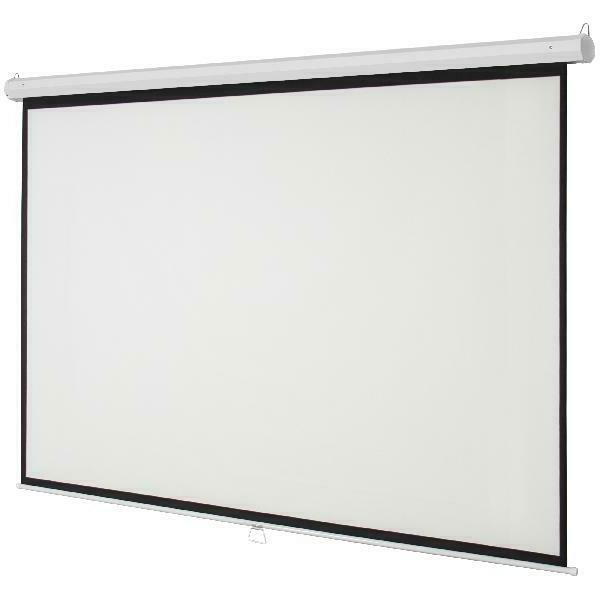 119 Indoor Pull Down Widescreen Projector Screen for Theater