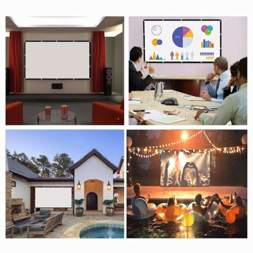 Projector Screen Outdoor Theater