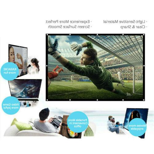 120-150'' Foldable Screen 16:9 Home 3D Cinema Theater