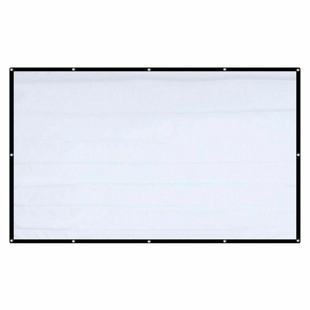 120'' 16:9 Portable Screen Projection Theater For Home&