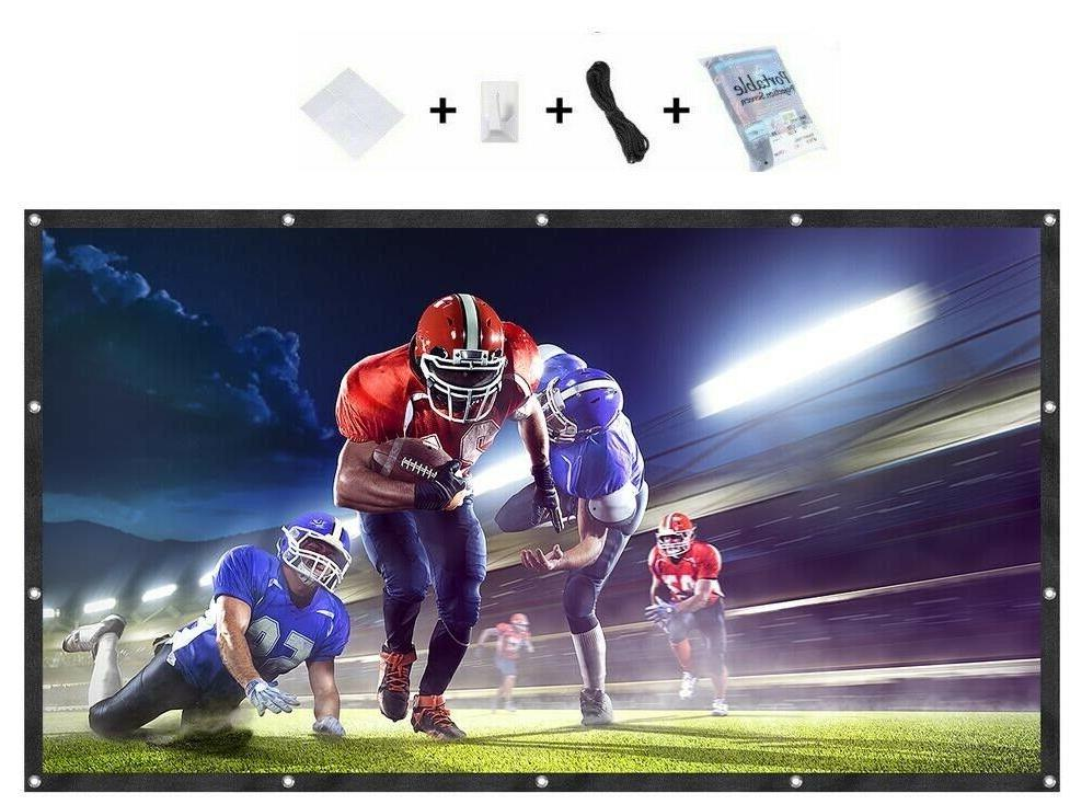 120 16 9 projection projector screen manual