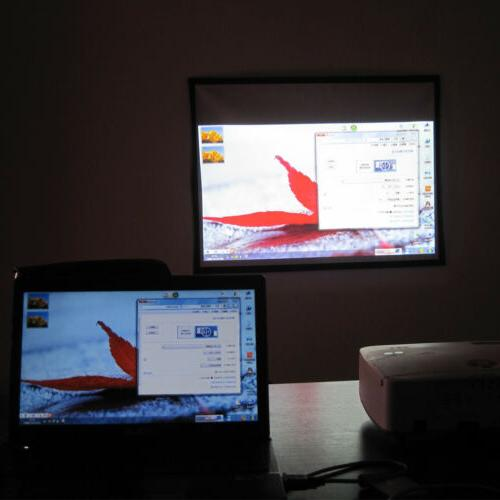 120'' 16:9 Projector Screen HD 1080P Theater